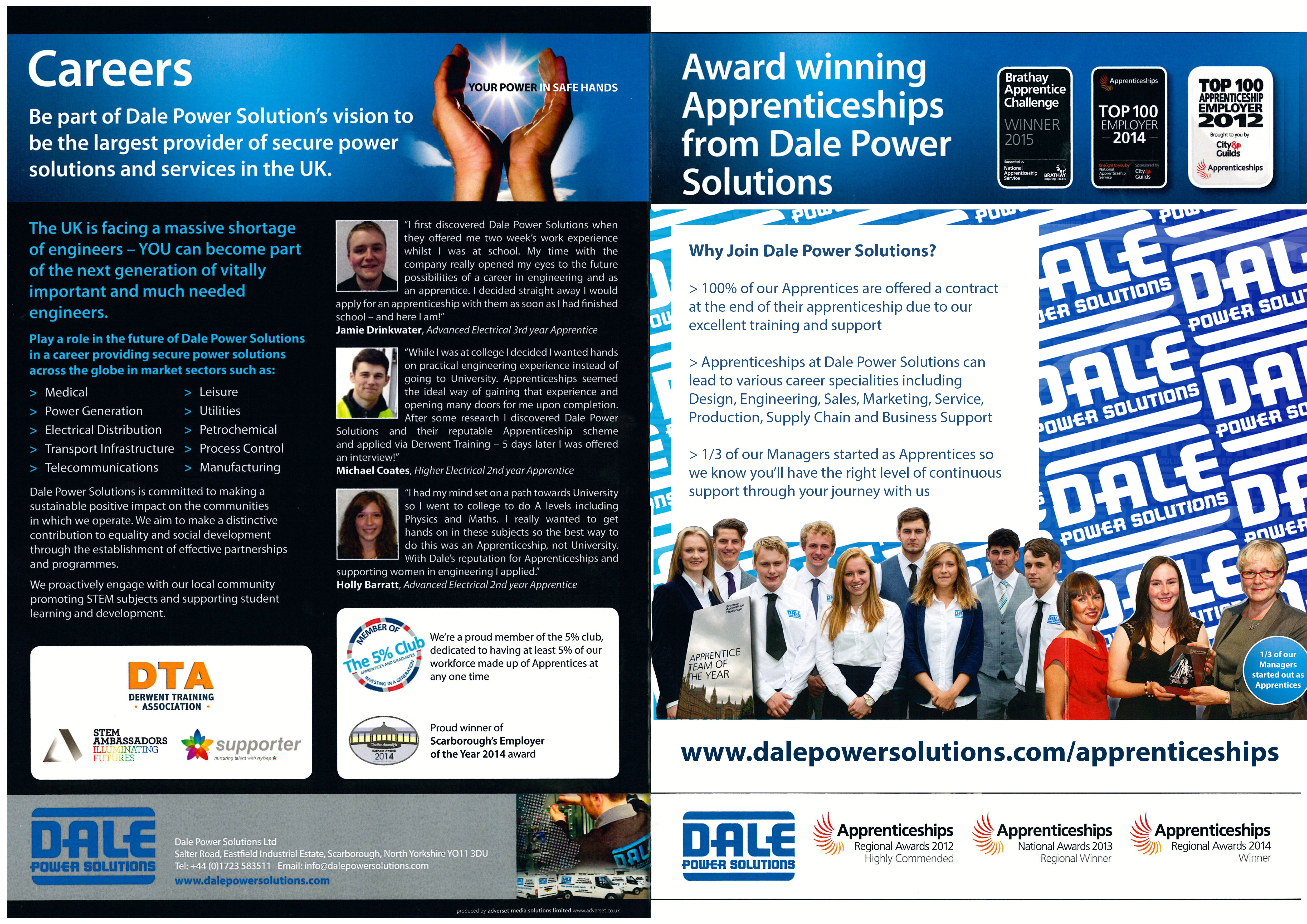 app-outside | Dale Power Solutions