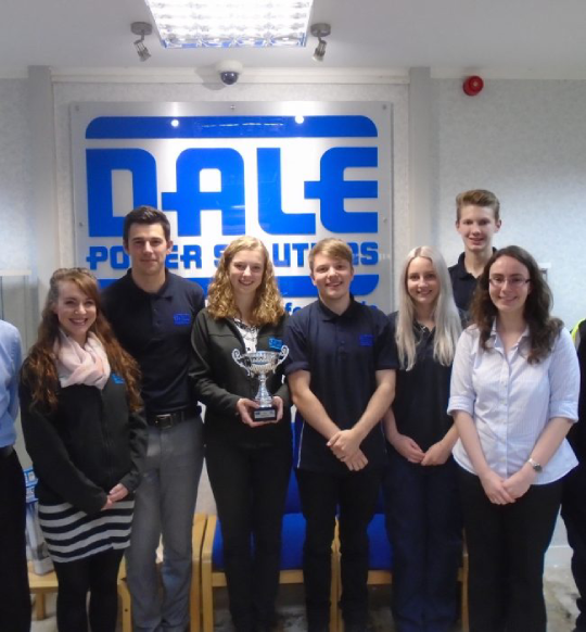 apprentices at dale power solutions