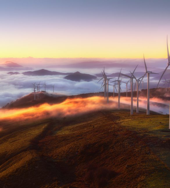 renewable energy through wind turbines with dale power solutions